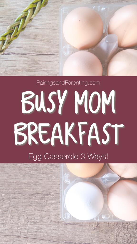 Busy Mom Breakfast Hacks