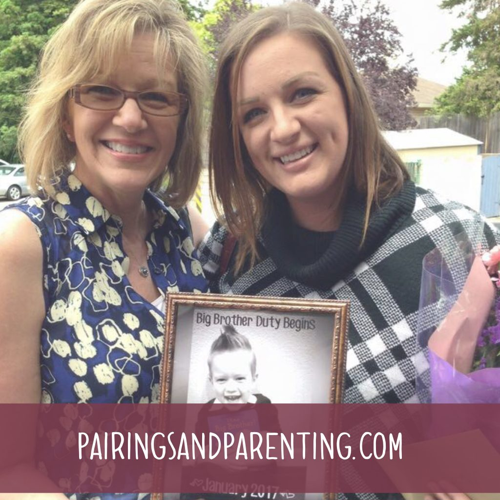 Mother's Day gift guide, I gave my mom a grand baby!