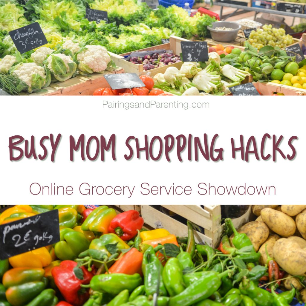 Busy Mom Shopping Hacks, Online Grocery Review