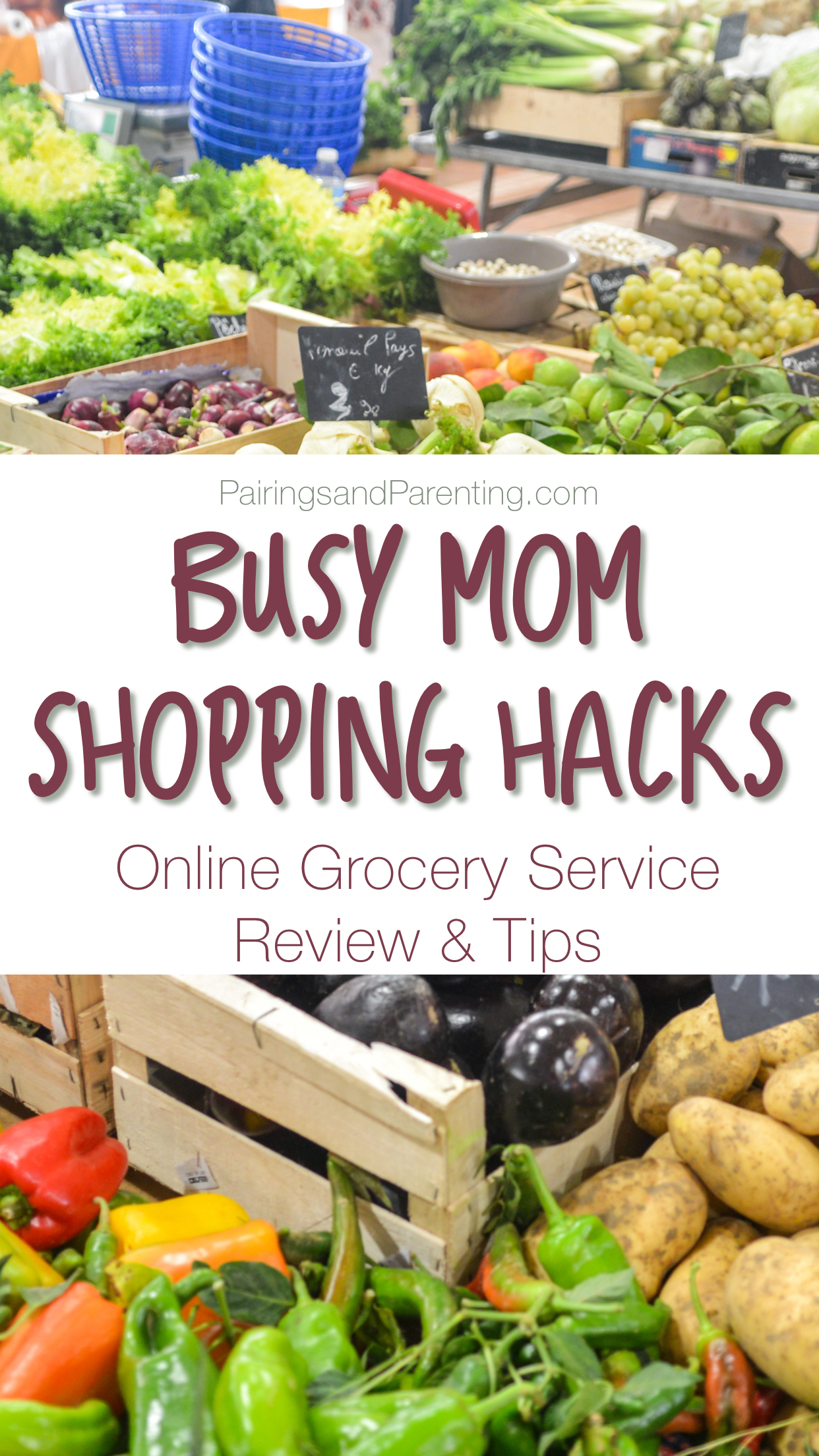 Online Grocery Service Review Tips! Great for busy moms! Busy mom Shopping hack!