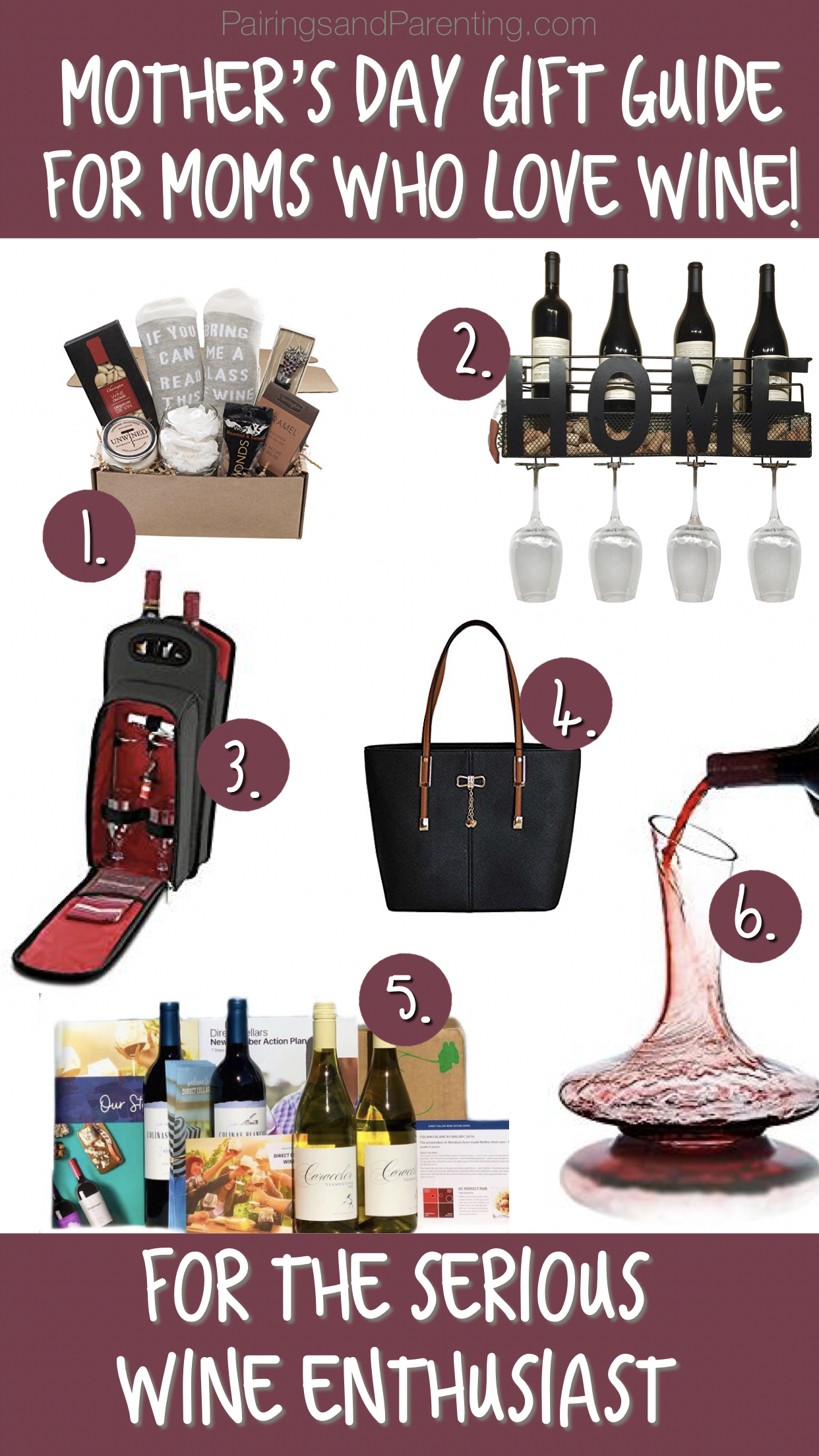 Mothers Day Gift Guide For the Serious Wine Lover