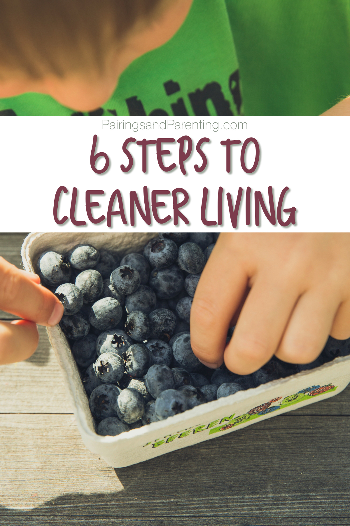 Clean Living, 6 Easy Steps