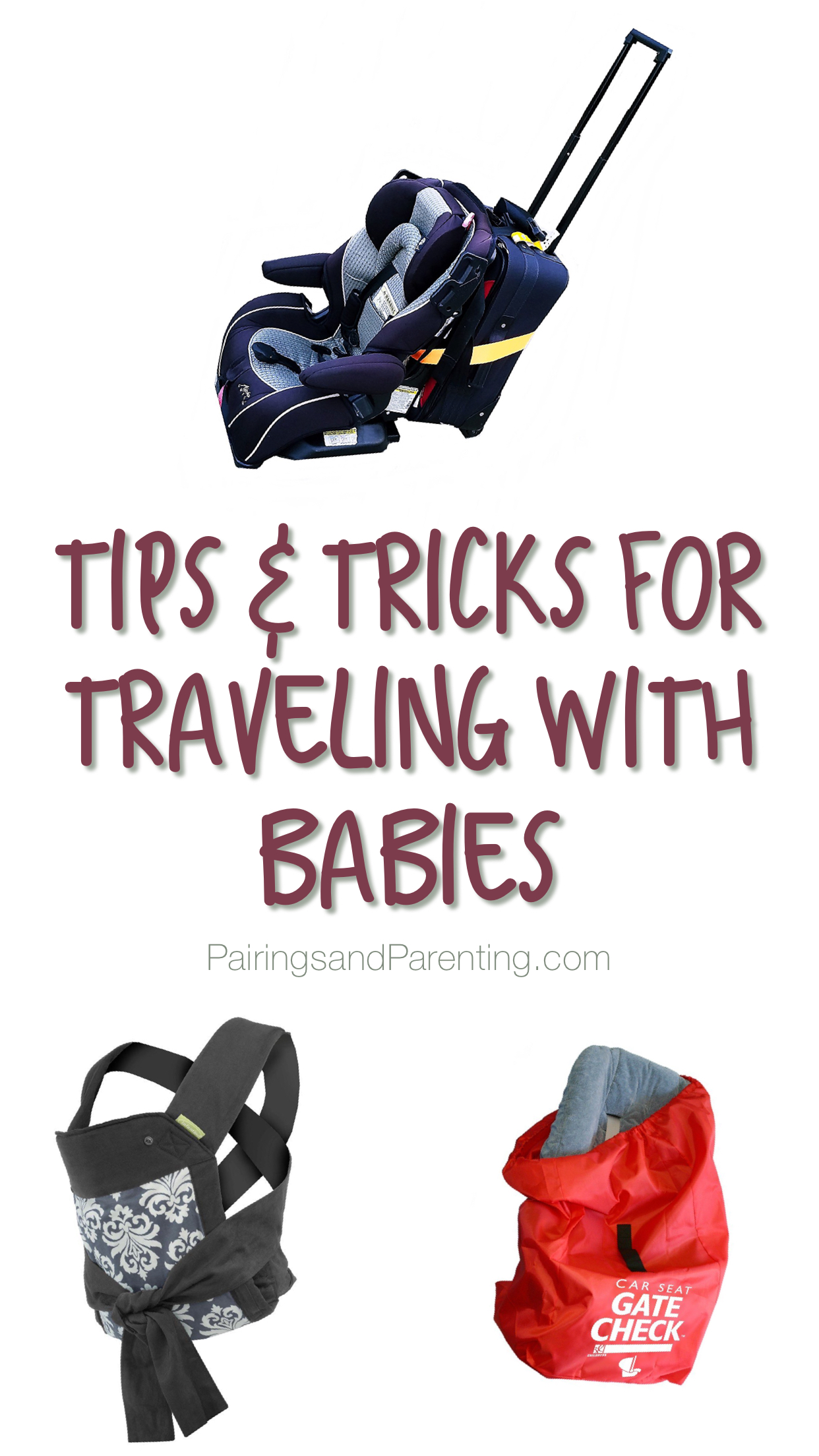 Tips and Must Have Items For Traveling With Baby