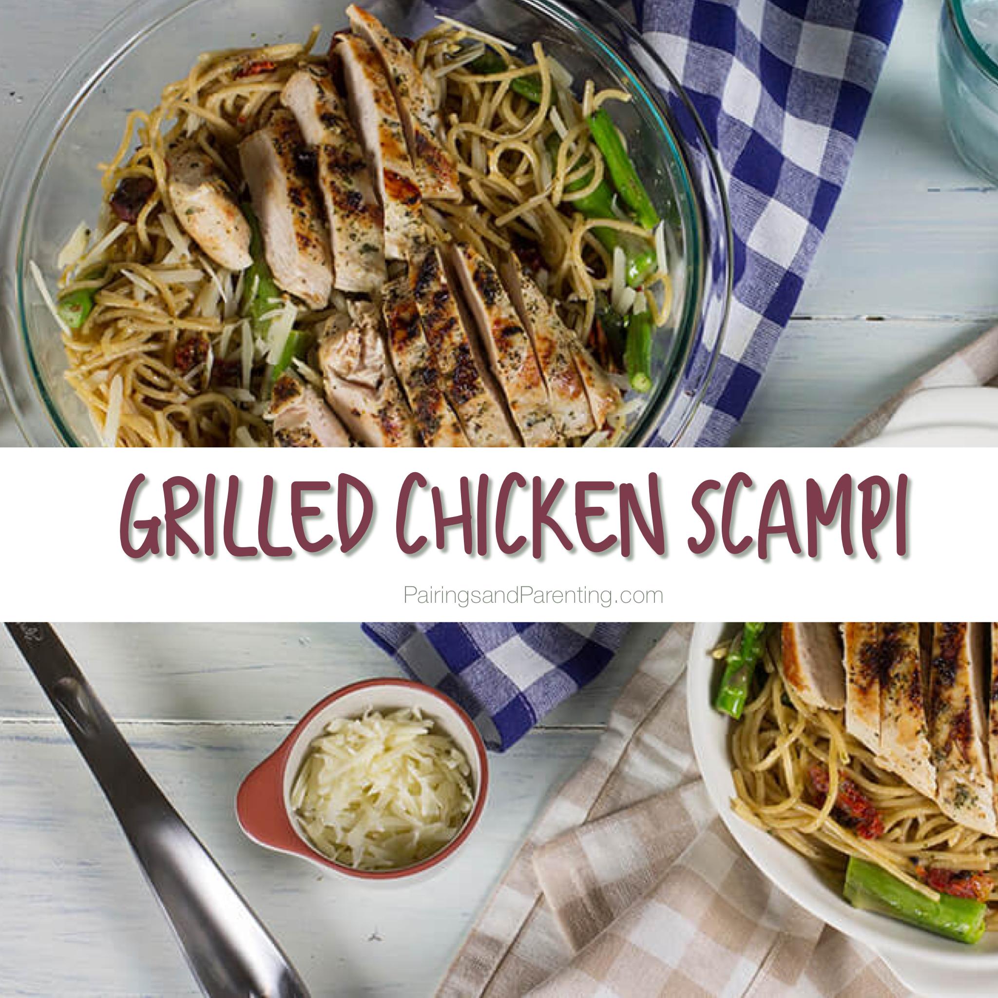 Grilled Chicken Scampi