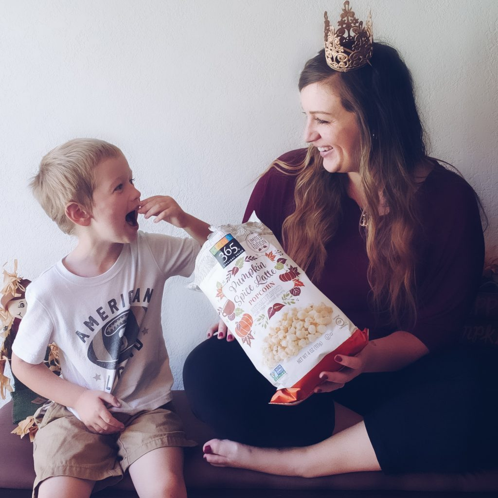 Fall flavor Trends - Pumpkin Spice Latte Popcorn