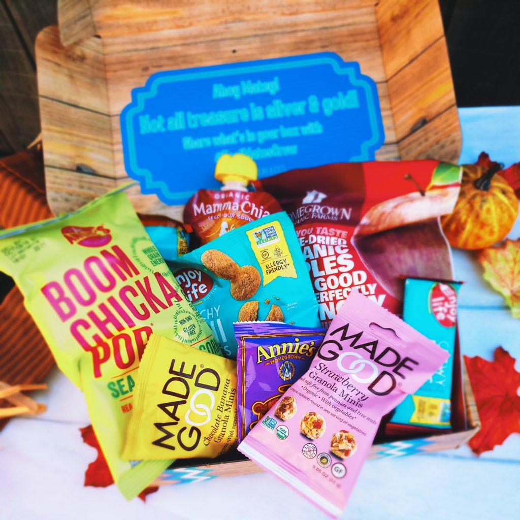 TealMates Snack Box, Clean Eating for kids, Allergy Friendly