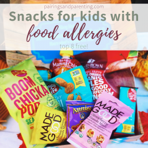 Snack Options for Kids with Food Allergies