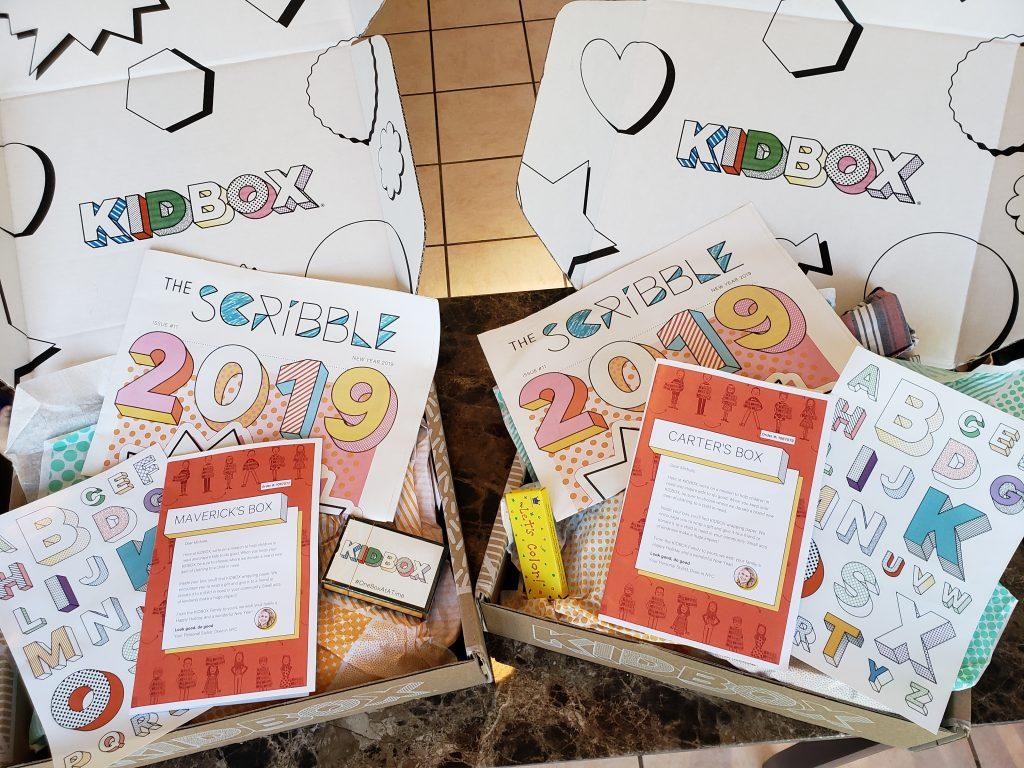 Whats inside a kidbox