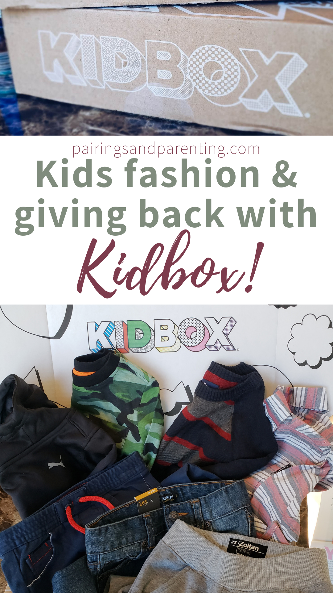 Kids Fashion And Giving Back With KidBox