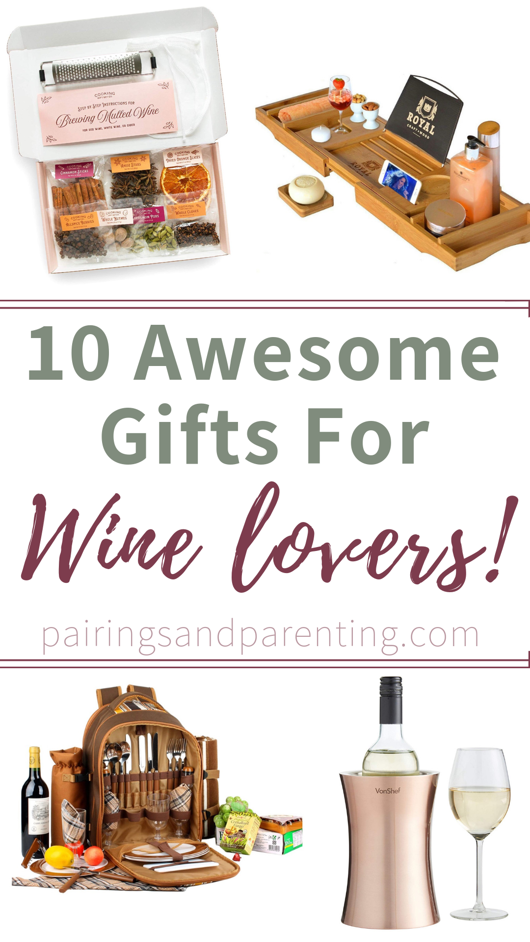 10 Awesome Gifts For Wine Lovers!