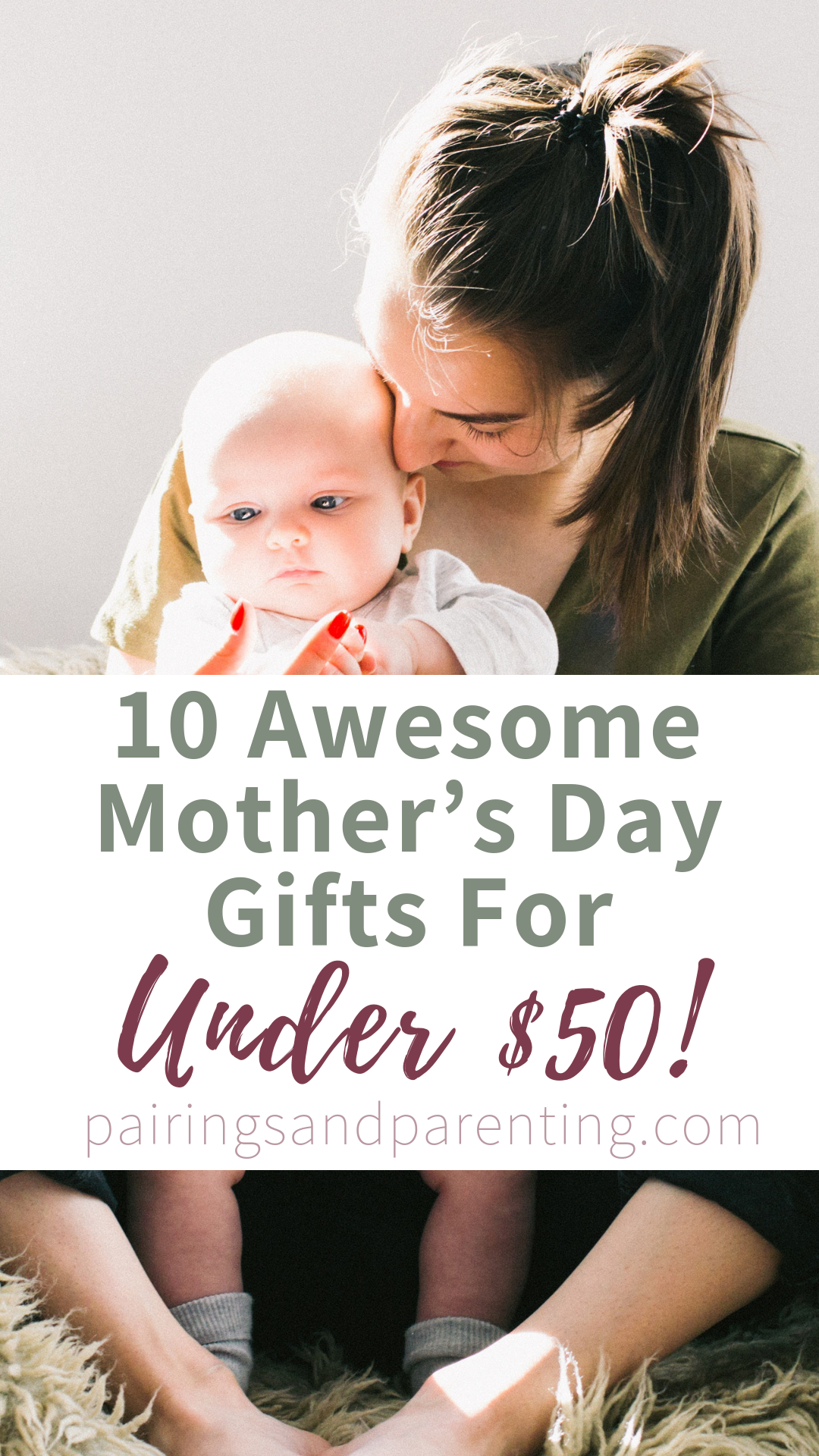 10 Awesome Mother's Day gifts under $50