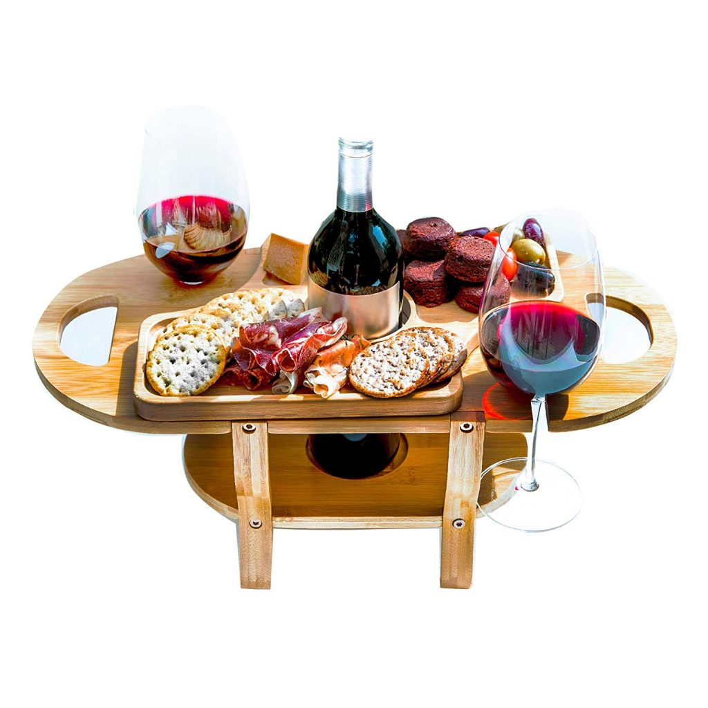 Mother's Day Gift Ideas - Wine & Cheese Tray