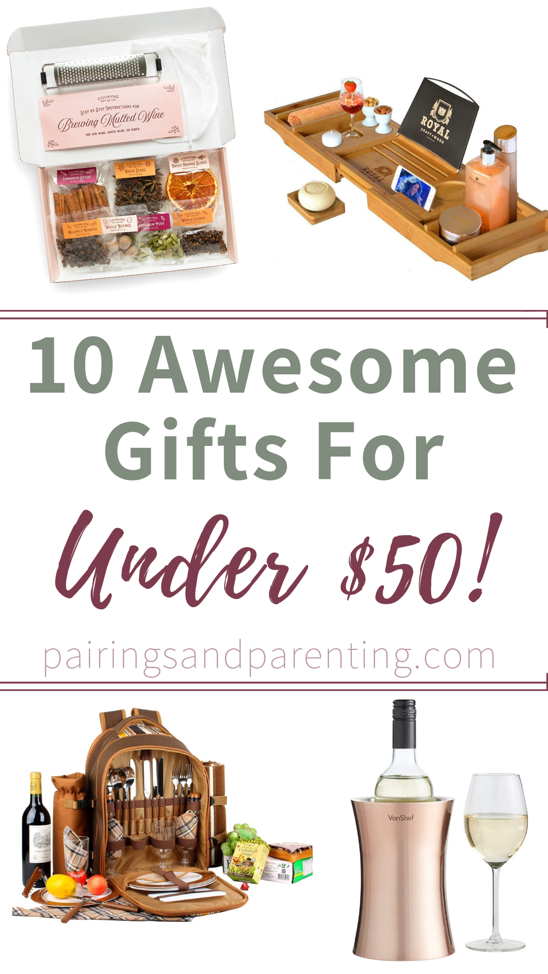 10 Awesome Gifts for Under $50