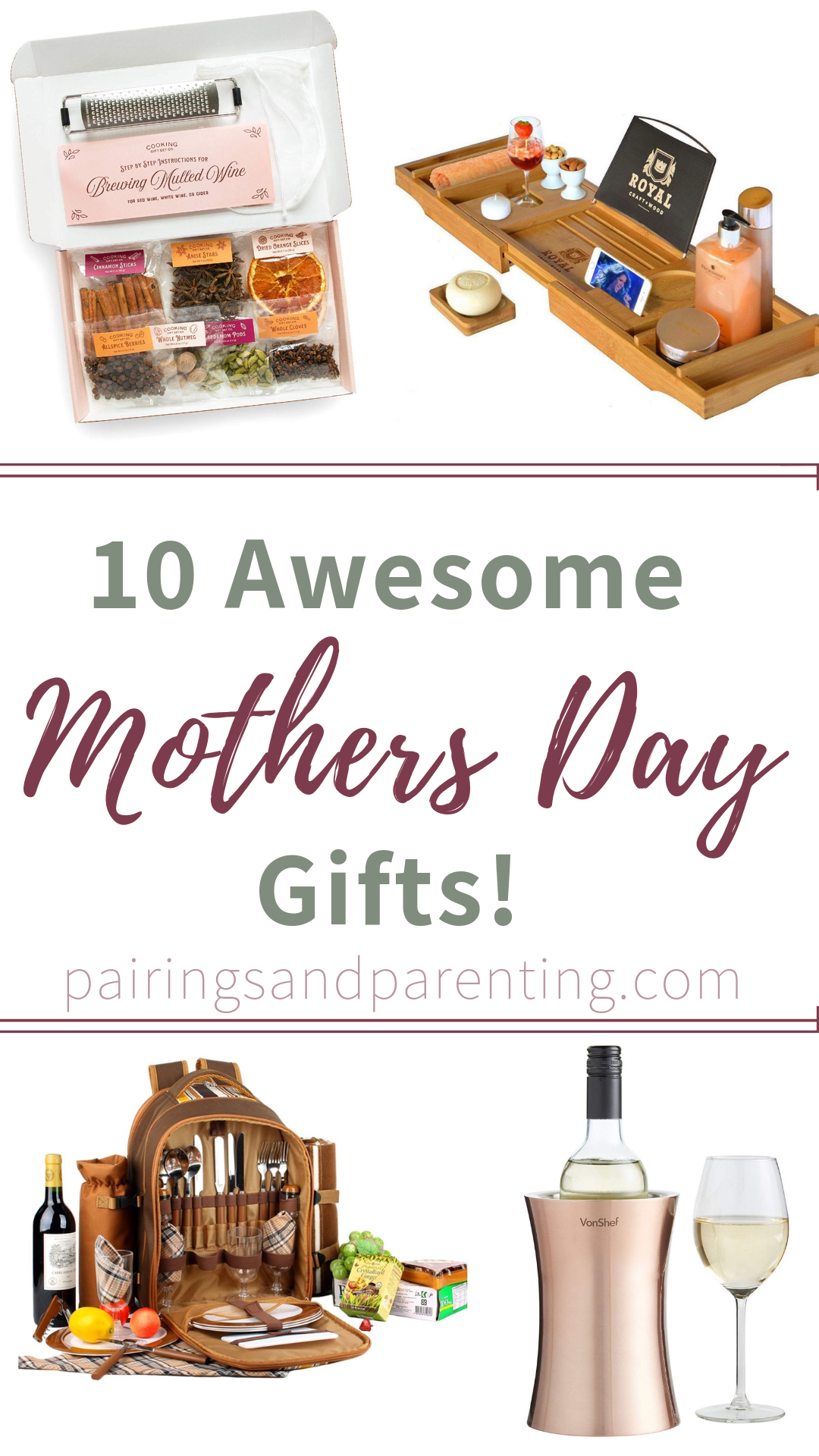 10 Awesome Mother's Day Gifts